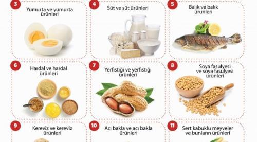 Gıdalarda Alerjenler ve Etki Mekanizmaları