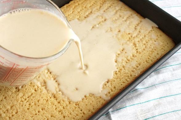 Пирог три молока рецепт с фото